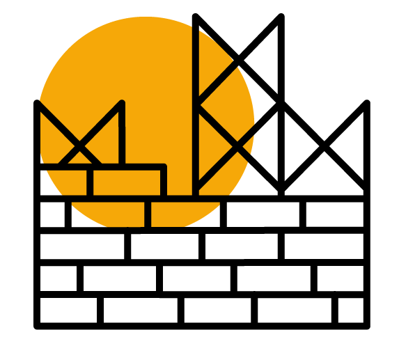 Piktogramm Baugerüst