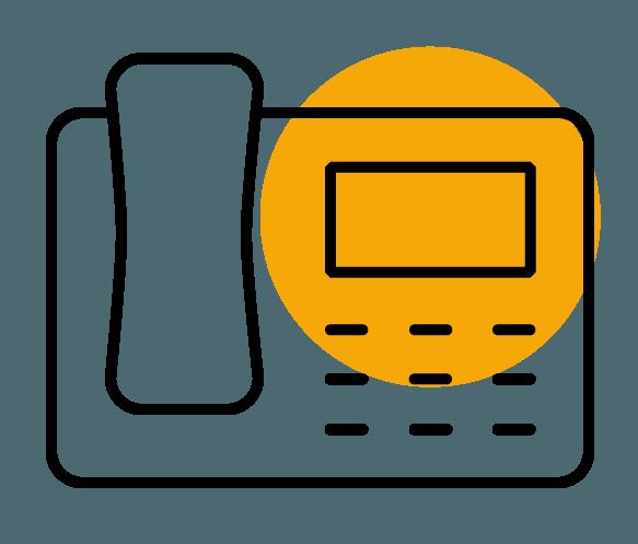 Piktogramm Telefon